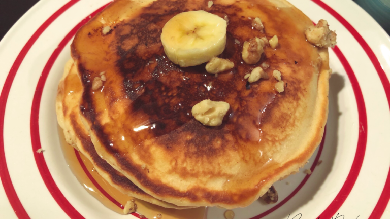 Breakfast for Dinner: Fluffy Buttered Pancakes