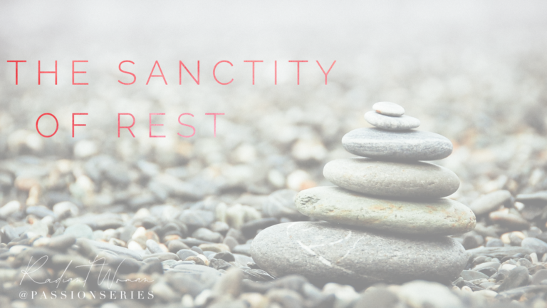 The sanctity of rest