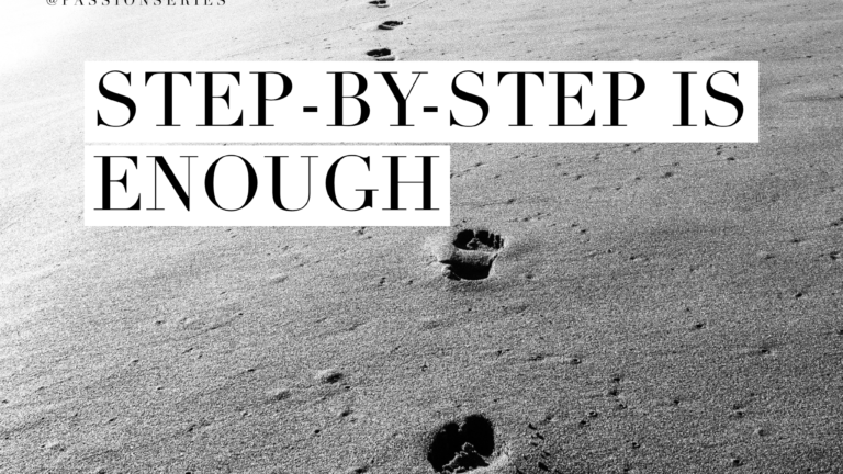 Step-by-step is enough
