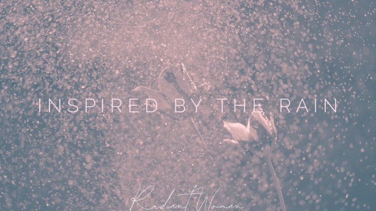 Inspired by the rain