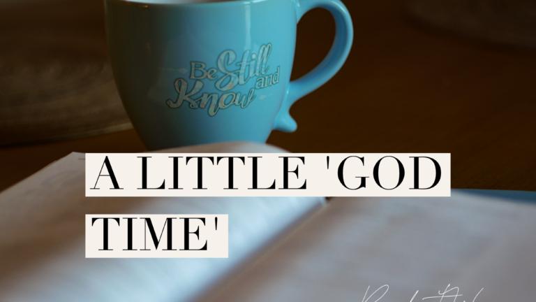 A little 'God Time'