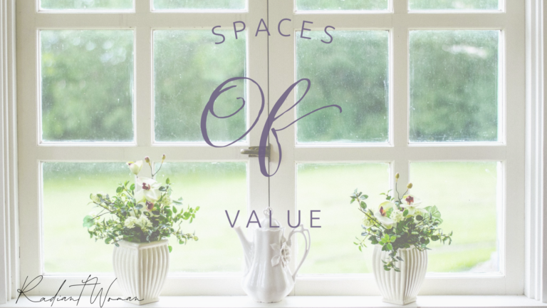 Spaces of value
