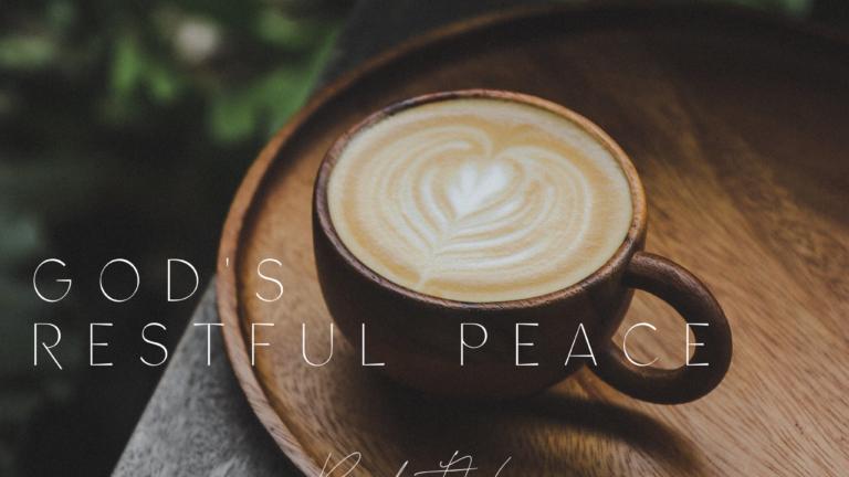 God's restful peace