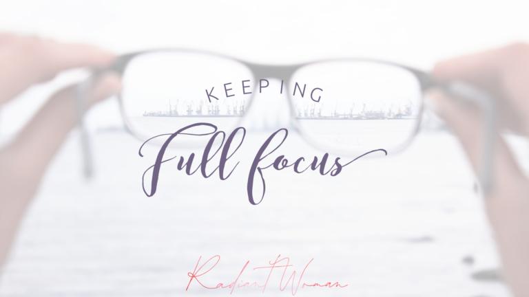 Keeping full focus
