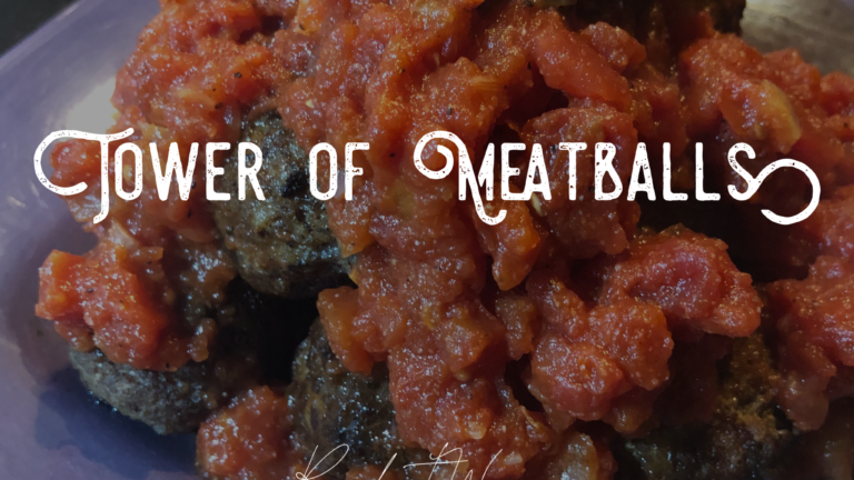 Tower of Meatballs